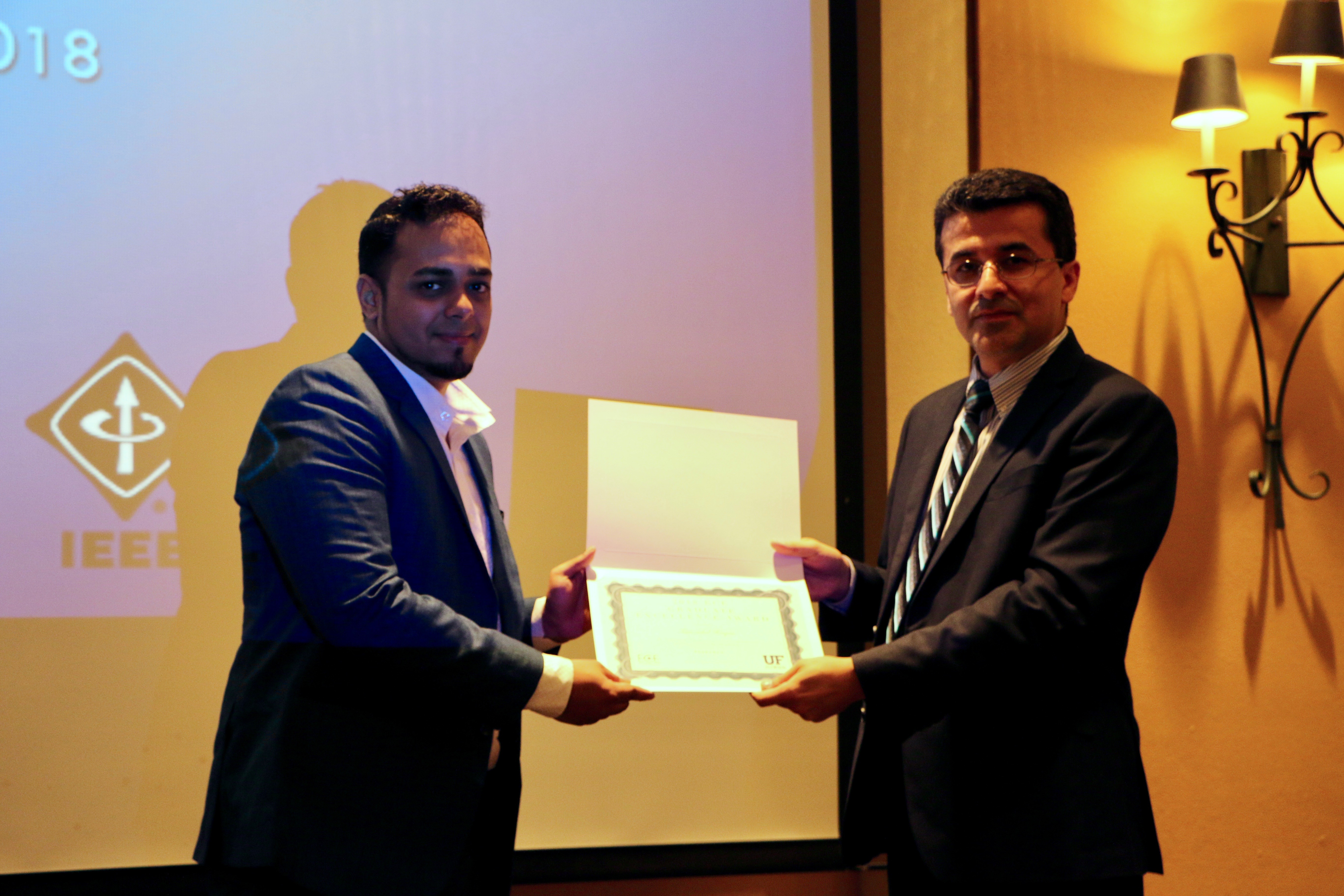 ECE Research Excellence Award for Student