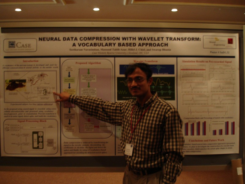 Poster at EMBS Neural Engineering Conference (NER) 2007